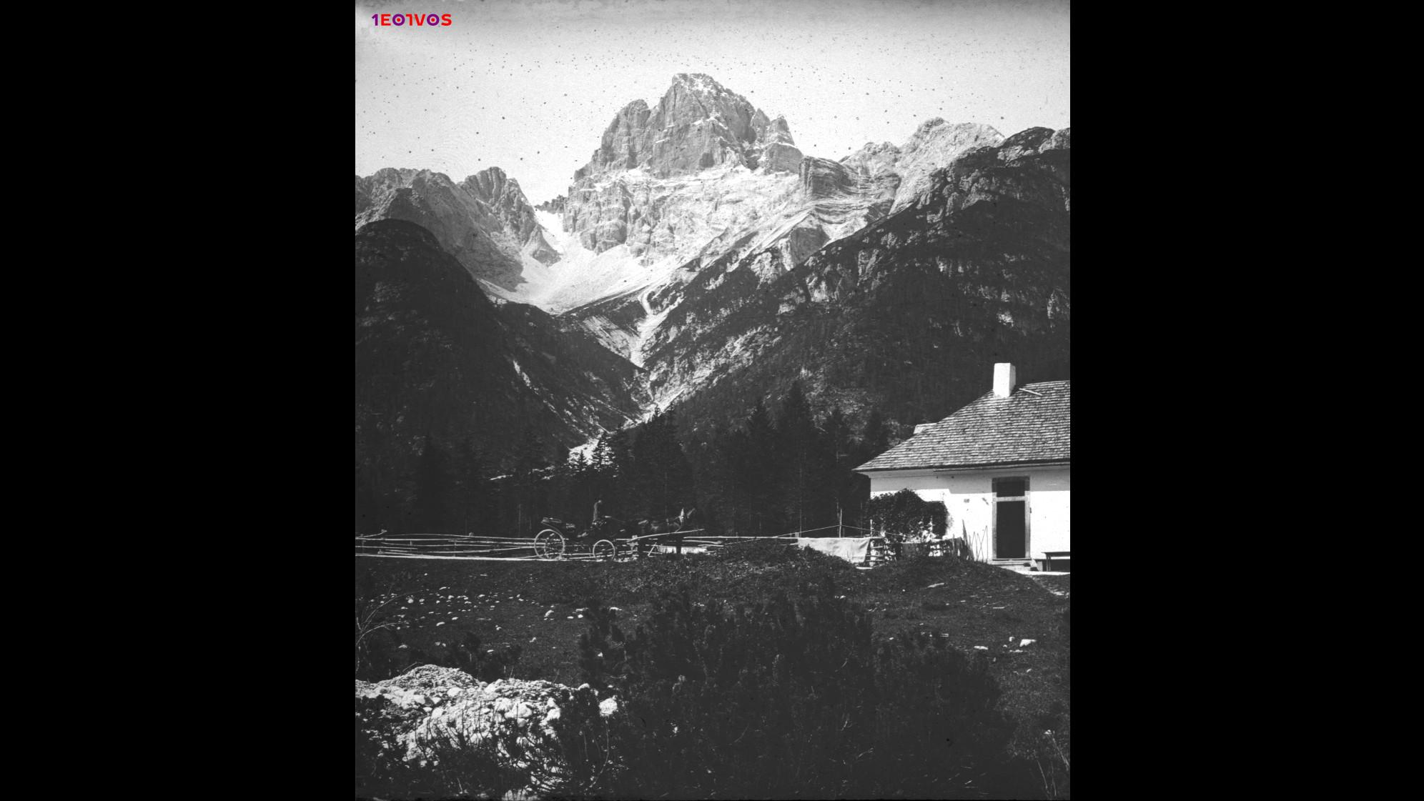 Croda Rossa Schluderbach felett